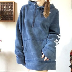 Hollister Tops - Holliseter Tye Dye navy Blue Sweatshirt